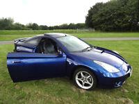 Toyota Celica VVTi, 2004, Spectra Blue Mica, Leather, History **Low mileage**