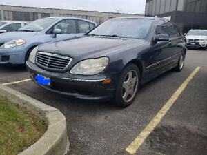 2002 Mercedes-Benz S-Class S55 AMG Sedan