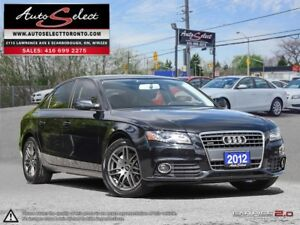 2012 Audi A4 Quattro ONLY 49K! **CLEAN CARPROOF** CLEAN CARPROOF