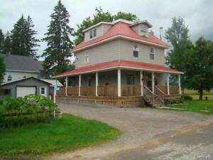 Hobby Farm with Renovated Century Home in Pontiac, Quebec!!