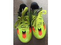 Boys messi adidas trainers size 12