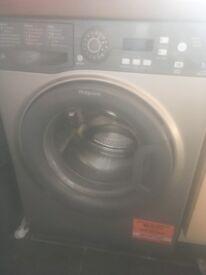 Hotpoint silver washing machine 1 month old!!