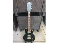 Shaftesbury les Paul style guitar roadworn and vintaged ( might swap )