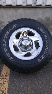 Tires+rims Dodge ram 1500 1996