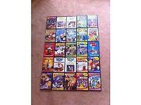 25 children's dvds