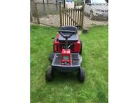 Sentinel by Murray ride on lawnmower with 10HP Briggs & Stratton power built engine