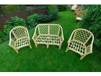 *JOB LOT* Garden - Patio Wicker Furniture - **SALE price ONLY £135**
