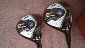 Callaway 3 & 5 woods Ladies Golf Clubs NEW PRICE !