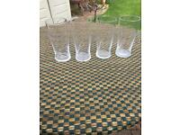 Old style strongbow pint glasses
