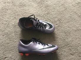 Men's size 7 (or teen/ large boys ) Nike Mercurial football boots good condition £15