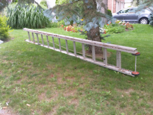 24' extension ladder aluminum