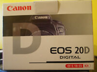 Canon EOS 20D SLR Digital Camera. (Can see working!)