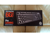SteelSeries 6GV2 Mechanical Keyboard - Black Switches