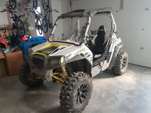 2014 Polaris RZR S Lighting