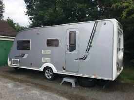 Swift Conqueror 530 - 4 berth 2008 End washroom excellent condition with Fiesta Air awning
