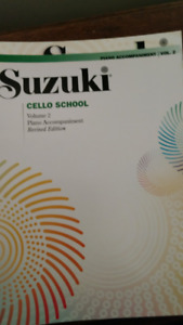 Piano Accompaniment for the Cell - Suzuki Method