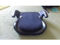 booster seat, removable pad