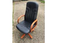 Genuine leather Desk chair