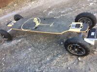 2 in 1 Evolve skateboard BUSTIN