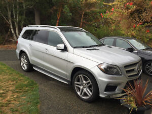 2015 Mercedes-Benz GL-Class 350 SUV, Crossover