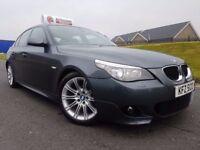 Dec 2007 LCI MODEL BMW 5 Series 520d M Sport! Factory Xenons! Lovely Example! FINANCE & WARRANTY