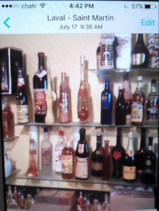 Collection of Bottled Hard & Liquor drinks, rare collectibles.