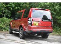 Land Rover Discovery SDV6 HSE (red) 2014-09-19