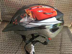 Boys bike helmet -Cars- fit boy 4-8 years kld