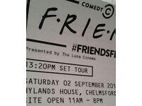 Friends Fest Tickets Chelmsford