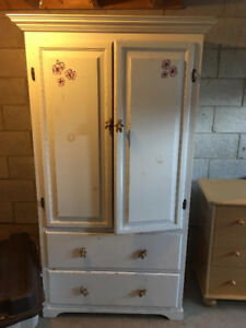 Pine Armoire - MUST SELL - $25 or Best offer