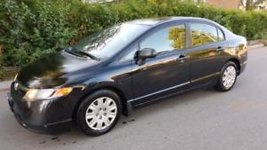 2007 HONDA CIVIC LX... Safety and Etest
