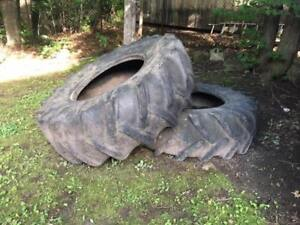 2 TRACTOR TIRES