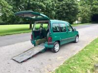 Peugeot Partner 2 L diesel HDI wheelchair access car 76,000 miles 54 Reg