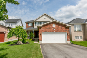 Beautiful 4 Bedrooms Home Located In South Barrie for Rent