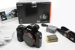 Excellent IN-BOX Sony A7R 36.4 MP Full Frame Camera; latest FW