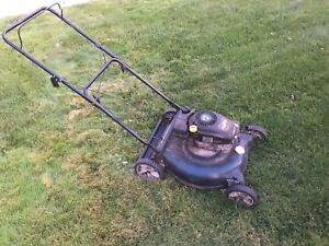 Yard works lawn mower $100
