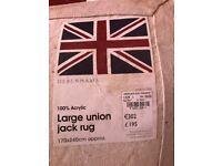 UNION JACK LARGE RUG & OTTOMAN STORAGE