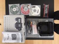 Canon 7d Mk 1 Semi Professional SLR Camera Boxed in Fantastic Condition boxed with all accessories.
