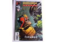 Judge Dredd vs Aliens #1 Dark Horse comics AUTOGRAPHED