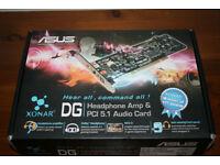 ASUS Xonar DG PCI 5.1 Audio Card