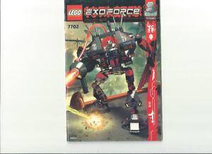 LEGO EXO FORCE MANUAL