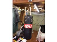 Punch Bag with 2 sets of gloves