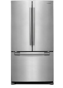 Samsung fridge with French Door with manual