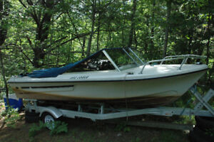 i\o 120 hp boat for sale   $1500 no trailer---$2500 with trailer