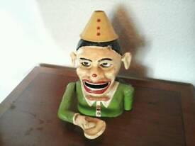 MECHANICAL MONEY BOX CLOWN