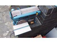 """Clarke Woodworker CS4-6D - 4"""" belt & 6"""" disc sander"""
