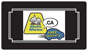 ***MULTI MENU - PREVENTION introductory pricing ***