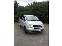 SILVER HYUNDAI I800 -DIESEL - 8 SEATS INCLUDING DRIVER - ONE LADY OWNER
