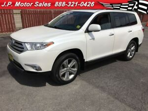2012 Toyota Highlander Limited, Auto, Navi, Sunroof, 4x4, Only 5