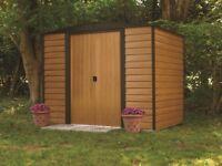 Arrow Woodbridge 8 x 6 metal shed